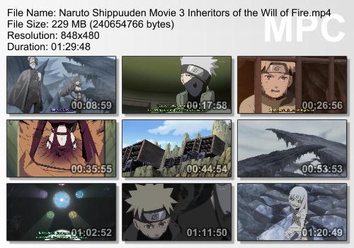 Naruto Shippūden 3: Inheritors Of The Will Of Fire